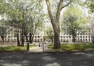 University-garden halls