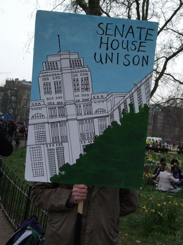 Response to senate house unison s claims over outsourced for Unison house