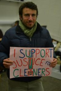 i support justice for cleaners pic